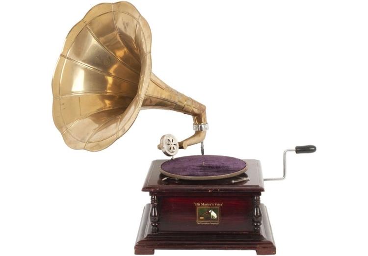 Vintage grammofoon