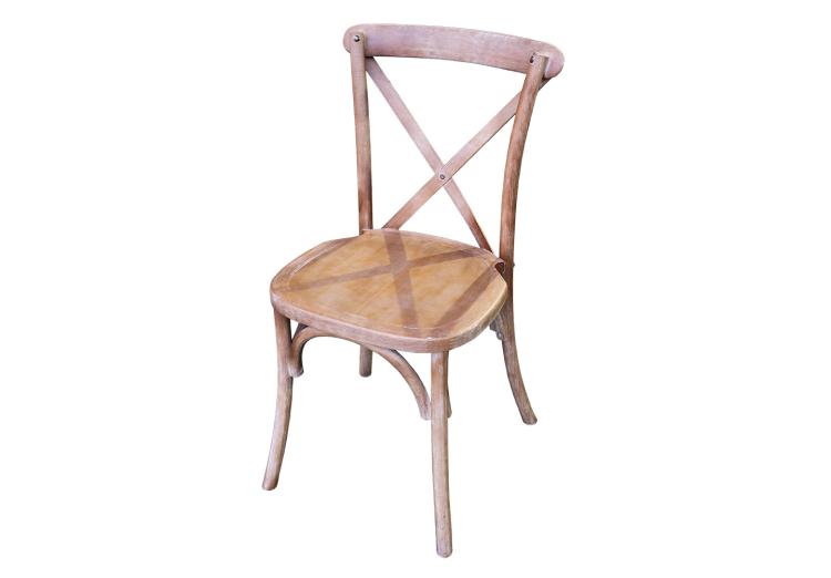 Crossback stoel