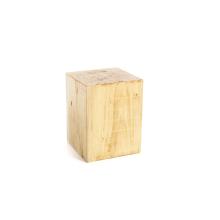 Kubus wood 35cm x 35x cm x 45cm