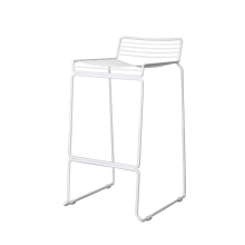 Barkruk metal white