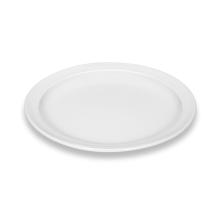 Plat bord wit Kopenhagen 25 cm