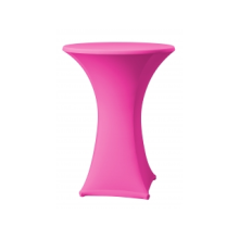 Stretchoes roze praattafel