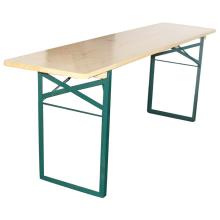 Lange biertafel hout 0,50m x 2,20m