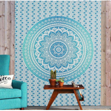 Backdrop Bohemian Blauw