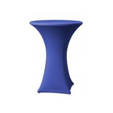 Stretchhoes blauw voor praattafel