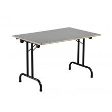 Bankettafel metafox rechthoekig 0,75cmx2m, geschikt voor 8pers.