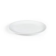 Ovaal bord wit Kopenhagen middelgroot