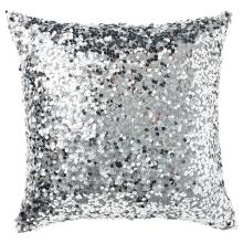 Kussen Glitter Zilver