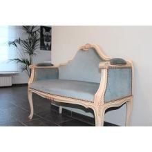 Sofa Velvet Blue