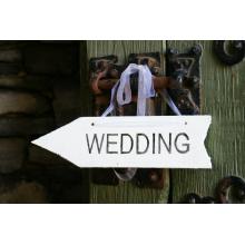 Wegwijzer 'Wedding'