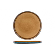 Quintana amber ondertas/broodbordje D14cm