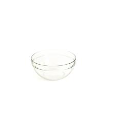 Groentenkom in glas 25cm