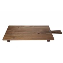 Tapasplank hout rechthoekig met handvat 70X30X1.5cm
