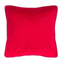 Kussen Velvet rood