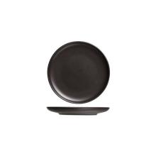 Okinawa Plat bord Zwart 18cm