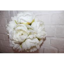 Bloemenbol zijde
