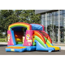 Springkasteel mini Multifun unicorn