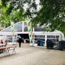 Grote markt Kortrijk, verhuur, party tent